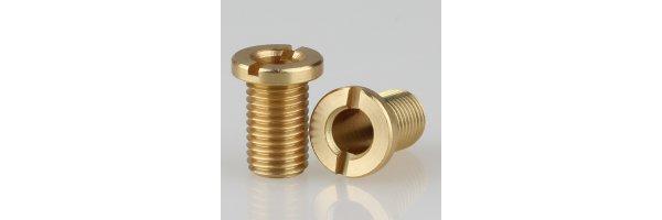 Trompeten-Nippel mit Schlitz ohne V-Schutz