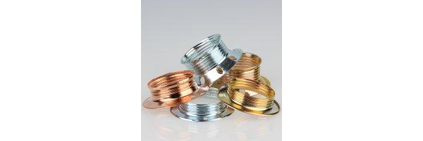 E27 Schraubring Metall