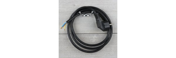 Anschlussleitung mit Stecker 1,5mm²