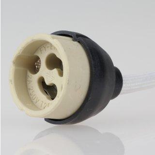 GZ10 Hochvolt Lampen-Fassung 2A/250V temperaturbeständig bis 250°C