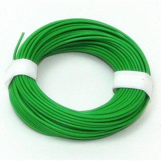 10 Meter Schaltlitzen Kabel grün 1-adrig 1x0,14mm²