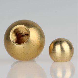 Metall-Kugel Messing roh 20 mm Durchmesser mit M8x1 Sackgewinde