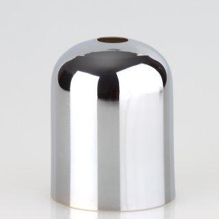 E27 Metall Fassungshülse Zierhülse 43x57 chrom poliert