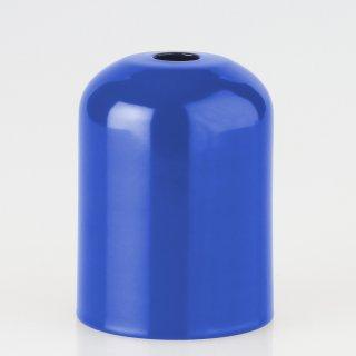 E27 Metall Fassungshülse Zierhülse 43x57 dunkelblau