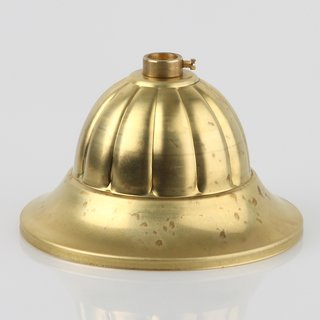 Lampen Baldachin Metall 99x55mm messing roh