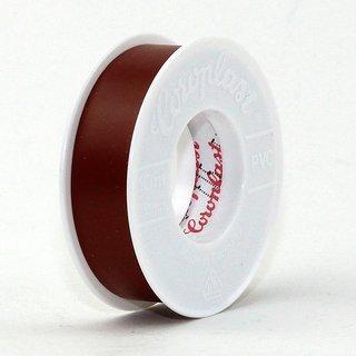 Coroplast PVC Elektro Isolierband braun Länge 10m Breite 15mm