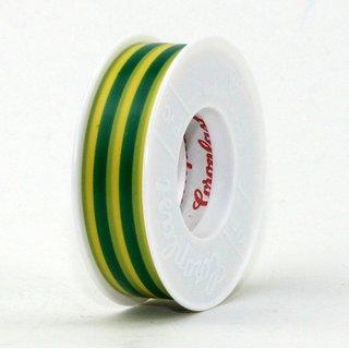Coroplast PVC Elektro Isolierband grün-gelb Länge 10m Breite 15mm