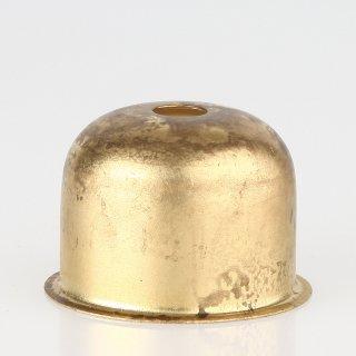 E27 Metall Fassungshülse 48x35 Zierhülse Messing roh unbehandelt Emmaaufsatz