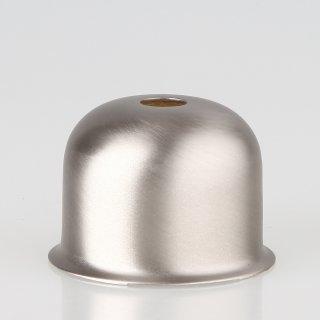 E27 Metall Fassungshülse 48x35 Zierhülse edelstahloptik  Emmaaufsatz