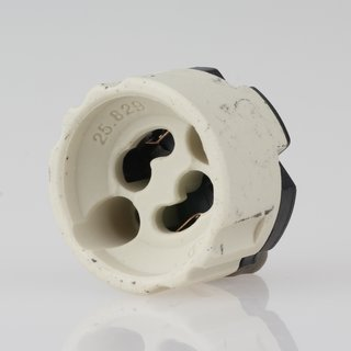 GU10 Hochvolt Lampen-Fassung 2A/250V mit Steckkontakt auf der Rückseite