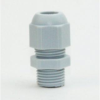 M16 Kabelverschraubung grau iP68 für Kabeldurchmesser 6 bis 10 mm