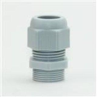 M40 Kabelverschraubung grau iP68 für Kabeldurchmesser 20 bis 29 mm