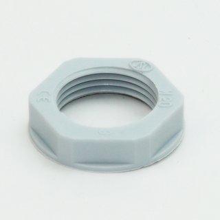 M25 Gegenmutter metrisch grau