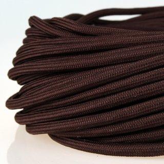 Textilkabel Stoffkabel braun 3-adrig 3x0,75 Zug-Pendelleitung S03RT-F 3G0,75