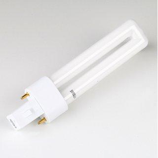 Osram Dulux-S Energiesparlampe 9W/830 Sockel G23 Länge 167mm warmweiß