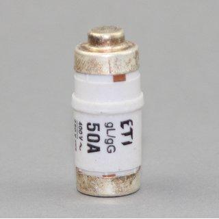 10 x Neozed Sicherungs Schmelzeinsatz D02 50A weiß 250/400V