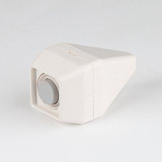 Birnentaster weiß 32x32mm 1-24V/2A