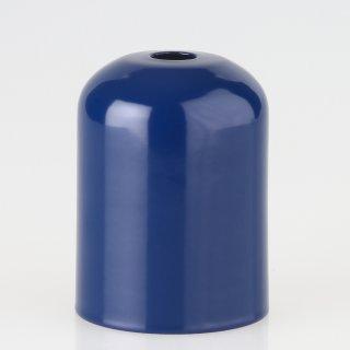 E27 Metall Fassungshülse Zierhülse 43x57 marineblau