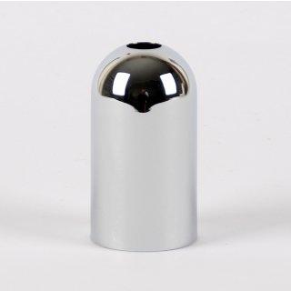 E14 Metall Fassungshülse Zierhülse 31x57 mm chrom poliert