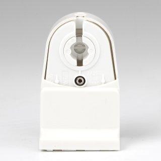 G13 Aufbau-Fassung für T8 Leuchtstoffröhre ohne Starterfassung