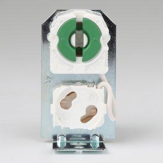 G13 Winkel-Fassung für T8 Leuchtstoffröhre mit Starterfassung