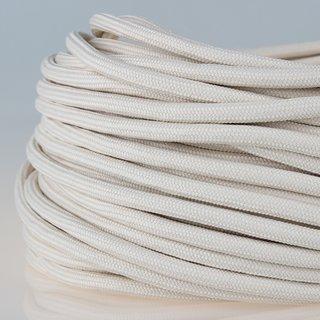 Textilkabel Stoffkabel elfenbein 3-adrig 3x0,75 Zug-Pendelleitung S03RT-F 3G0,75