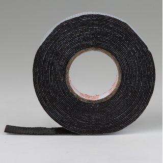 Pannenband Klebeband Isolierband Polyisobutylen schwarz selbstverschweißend 10m/19mm