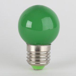 LED Leuchtmittel grün tropfenform E27 Sockel 220-240V 1W