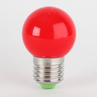 LED Leuchtmittel rot tropfenform E27 Sockel 220-240V 1W