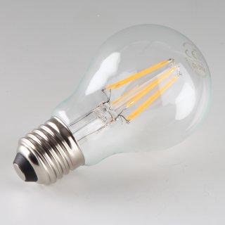 Osram LED Filament Leuchtmittel 7W 240V AGL-Form klar E27 Sockel warmweiß