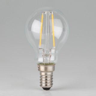 Osram LED Filament Leuchtmittel 2.5W 240V Tropfen-Form klar E14 Sockel warmweiß
