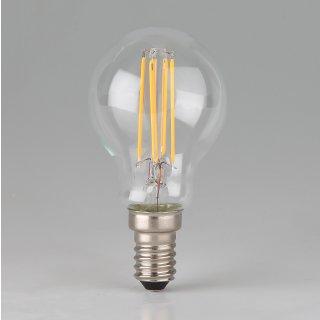 Osram LED Filament Leuchtmittel 3,8W 240V Tropfen-Form klar E14 Sockel warmweiß