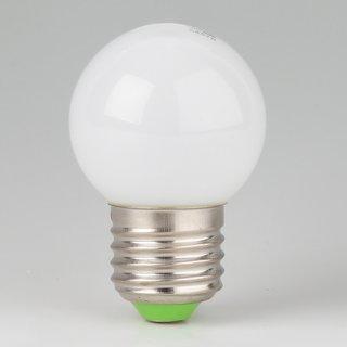 LED Leuchtmittel opal matt tropfenform E27 Sockel 220-240V 1W