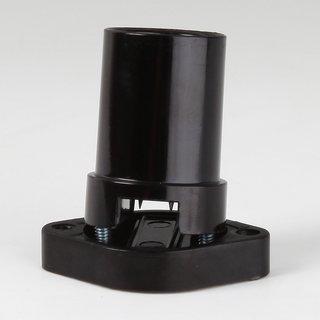 E14 Illu-Fassung Illumationsfassung schwarz mit Dichtring für Illu-Flachkabel