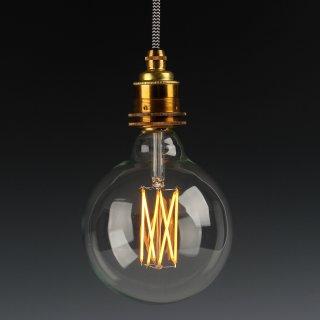 Danlamp E27 Vintage Deko LED Mega Edison Lampe 125mm 240V/2,5W