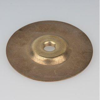 Schirmträgerplatte 70x5 mm für Lampenschirm Gewinde M10x1