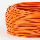 100 Meter PVC Aderleitung 1x0,75 mm² H05V-K orange (NYA-F)  flexibel