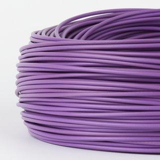 100 Meter PVC Aderleitung 1x0,75 mm² H05V-K violett (NYA-F)  flexibel