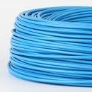 100 Meter PVC Aderleitung 1x1,5 mm² H07V-K blau (NYA-F)  flexibel