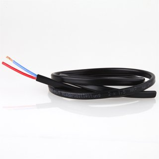 Lampen Niedervoltkabel Niedervoltleitung 2 x1,5mm² SIF/PV max. 24V