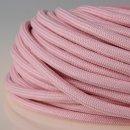 Textilkabel Stoffkabel rosa 3-adrig 3x0,75 Zug-Pendelleitung S03RT-F 3G0,75