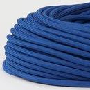 Textilkabel Stoffkabel dunkelblau 3-adrig 3x0,75...