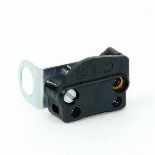 Einbau-Zugausschalter Einbau Zugschalter Lampe mit Winkelbefestigung 230V2A