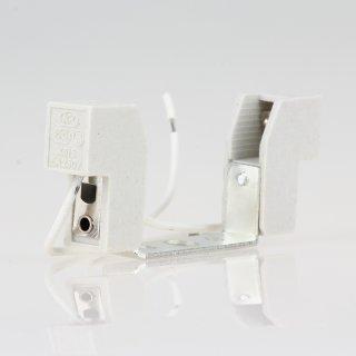 R7s Hochvolt Halogen Lampen-Fassung 6A/230V Kontaktabstand 78mm
