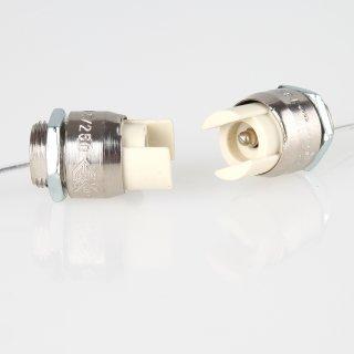 R7s Hochvolt Halogen Lampenfassung mit 22cm Silikonleitung