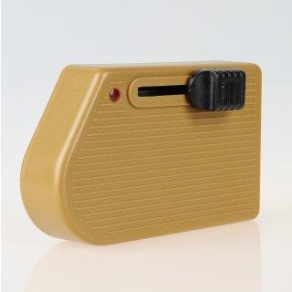 Schnur-Fußdimmer gold 230V40-250W, HV-LED 4-100W Relco RT81 LED