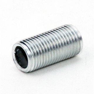 Lampen Gewinderohr Länge 100mm verzinkt M10x1x100