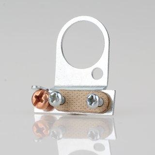 Lampen-Kabelaufhänger Metall verzinkt Kabel Zugentlaster für 16er Rohr mit VUFI Schelle
