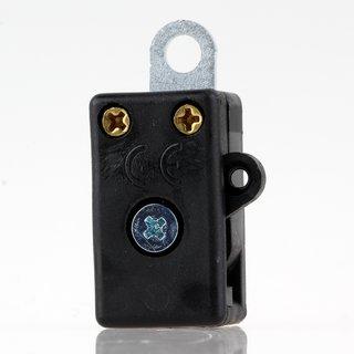 Lampen Einbau-Zugschalter EIN/AUS mit Befestigungslasche 4,2mm 250V2A