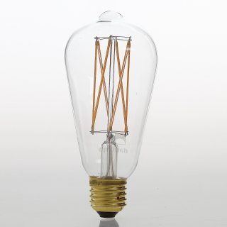 Danlamp E27 Vintage Deko LED Edison Gold Lamp 240V/2,5W
